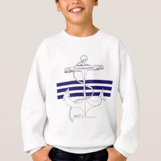 海軍司令官、贅沢なfernandes スウェットシャツ