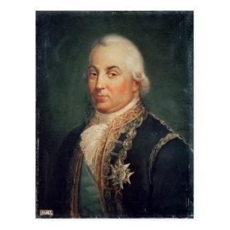 海軍大将ピエールde Suffren聖者Tropezの はがき
