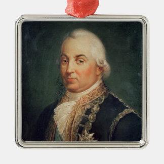 海軍大将ピエールde Suffren聖者Tropezの メタルオーナメント
