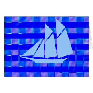 海軍大将Blue Sail Voyage グリーティングカード