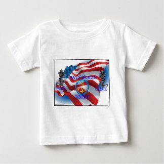 海軍女性 ベビーTシャツ