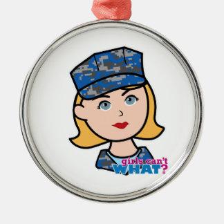 海軍女性 メタルオーナメント
