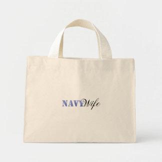 海軍妻のバッグ ミニトートバッグ