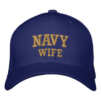 海軍妻 刺繍入りキャップ
