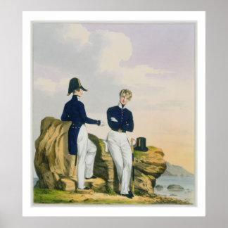 海軍少尉候補生は、「王室のなNavの衣裳からの3つをめっきします ポスター