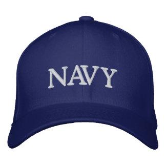 海軍帽子 刺繍入りキャップ