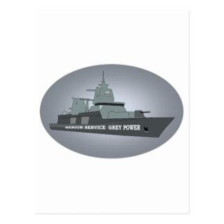 海軍年長サービス ポストカード