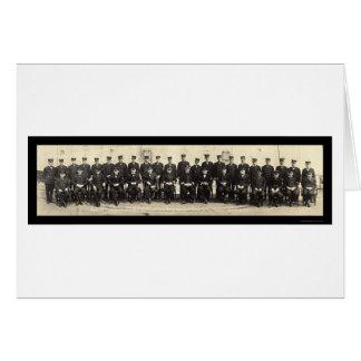海軍役人機内WWIの写真1918年 カード