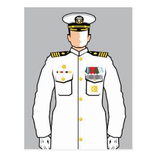 海軍役人 ポストカード