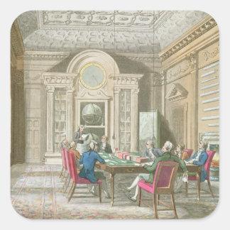 海軍本部の会議室、1808年 スクエアシール