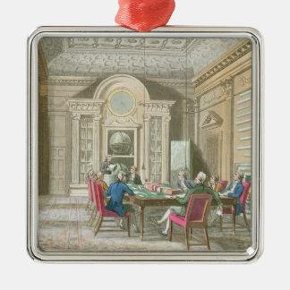 海軍本部の会議室、1808年 メタルオーナメント