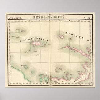 海軍本部の島オセアニア24無し ポスター