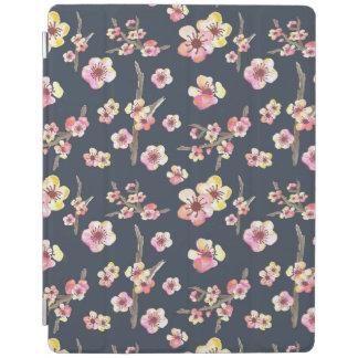 海軍桜の花柄 iPadスマートカバー