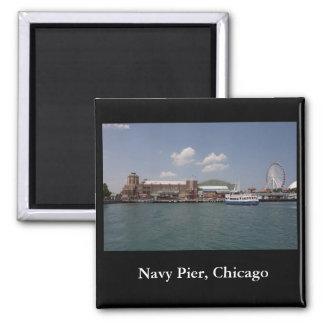 海軍桟橋、シカゴ マグネット