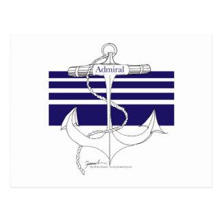 海軍海軍大将、贅沢なfernandes ポストカード