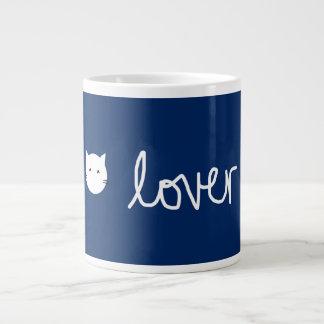 海軍猫好きのマグ ジャンボコーヒーマグカップ