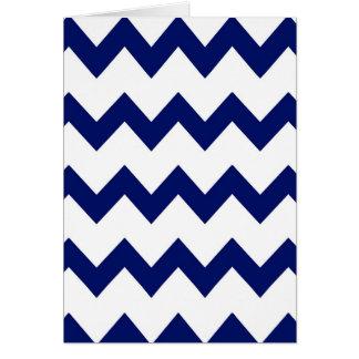 海軍白いシェブロンカード カード