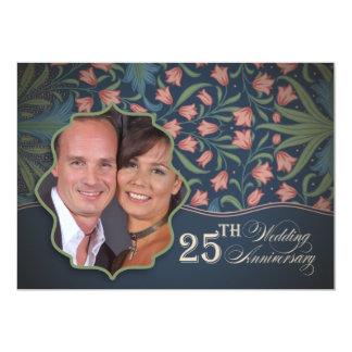 海軍第25結婚記念日の写真 カード