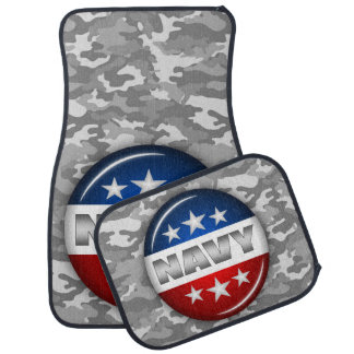 海軍紋章の迷彩柄のカムフラージュ#2 カーマット