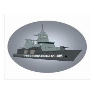 海軍軍艦 ポストカード