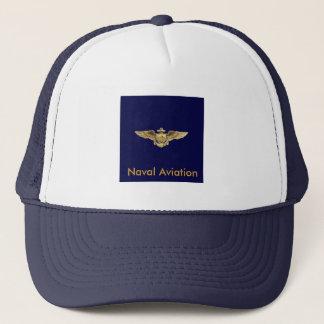 海軍飛行士の翼、海軍の航空活動 キャップ