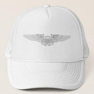 海軍飛行役人の翼-銀 キャップ