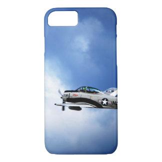 海軍飛行機のやっとそこにiPhone 7の場合 iPhone 8/7ケース