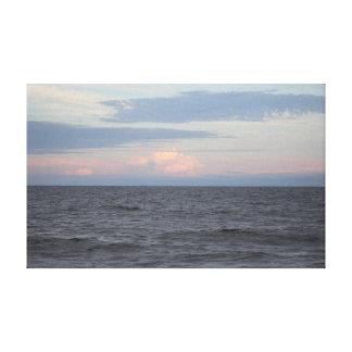 海都市プリント-カクテル時間の眺め キャンバスプリント