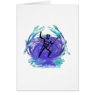 海1のPoseidonの神 カード