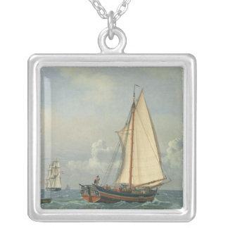 海1831年 シルバープレートネックレス