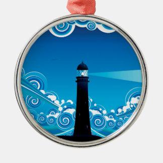 海5の灯台 メタルオーナメント