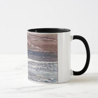 海、空及び馬 マグカップ