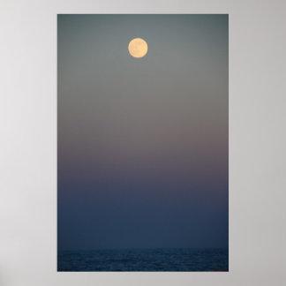 海#4711ポスター上のMoonrise ポスター