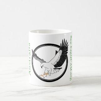 海EagleCAMのロゴのマグ コーヒーマグカップ