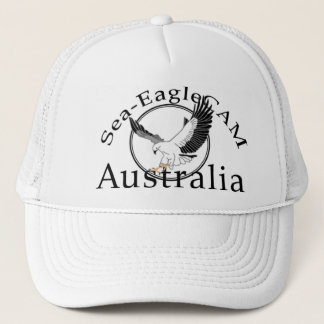海EagleCAMのロゴの帽子1 キャップ