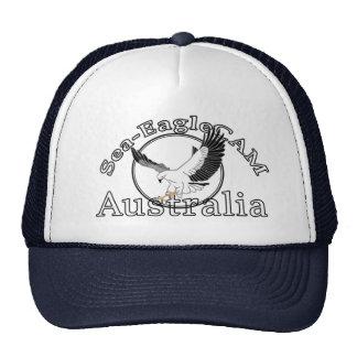 海EagleCAMのロゴの帽子2 メッシュキャップ