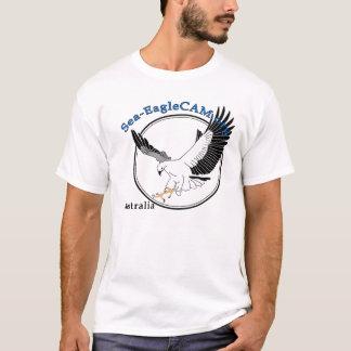 海EagleCAMのロゴのTシャツ Tシャツ