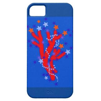海Gesignの青い赤い珊瑚 iPhone SE/5/5s ケース
