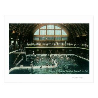 浸るパビリオンの内部の眺め ポストカード
