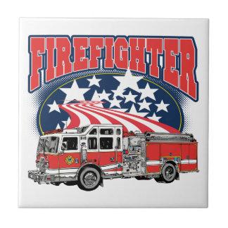 消火のトラック タイル