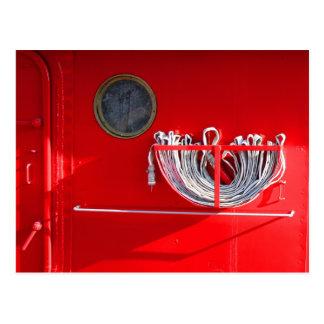 消火ホース ポストカード