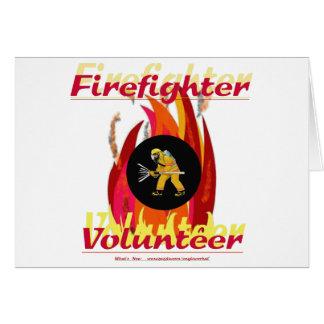 消防士のボランティア カード