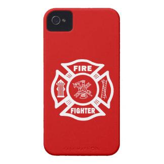 消防士のマルチーズ Case-Mate iPhone 4 ケース