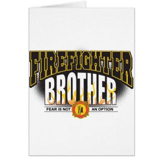 消防士の兄弟 カード