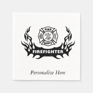 消防士の入れ墨 スタンダードカクテルナプキン