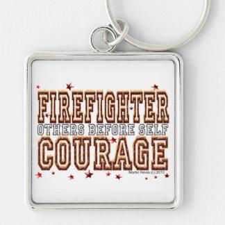 消防士の勇気-自己の前の他 キーホルダー