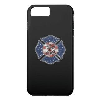 消防士の愛国心が強いロゴ iPhone 8 PLUS/7 PLUSケース