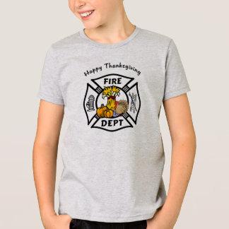 消防士の感謝祭 Tシャツ
