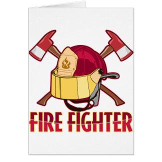 消防士の捧げ物 カード