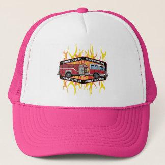 消防士の普通消防車 キャップ